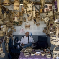 Basketmaker booth