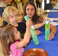 Interactive Children's Activities at the Audubon Art and Craft Festival (Hawley, PA). Photo credit: Georgette Pascotto.