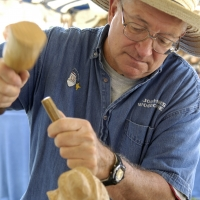 Woodcarver demo